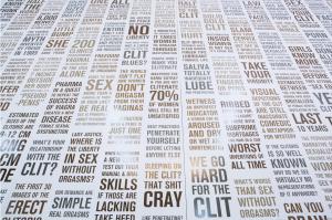 Cliteracy | Image Courtesy: Sophia Wallace