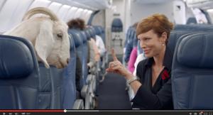 Delta Airlines Flight Safety Video | Image Courtesy: Delta