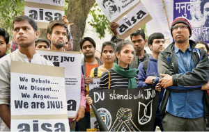 Student Protests | Courtesy: IndiaToday.in